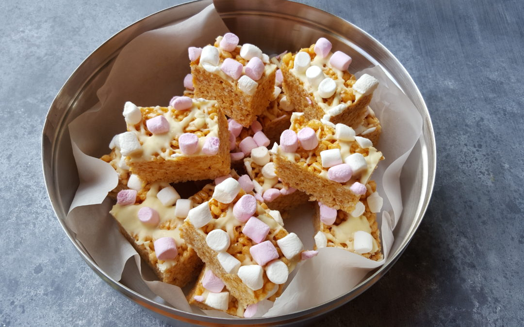 Toffee Marshmallow Crunchies