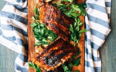 Slow Roast Sticky, Tangy BBQ Ribs